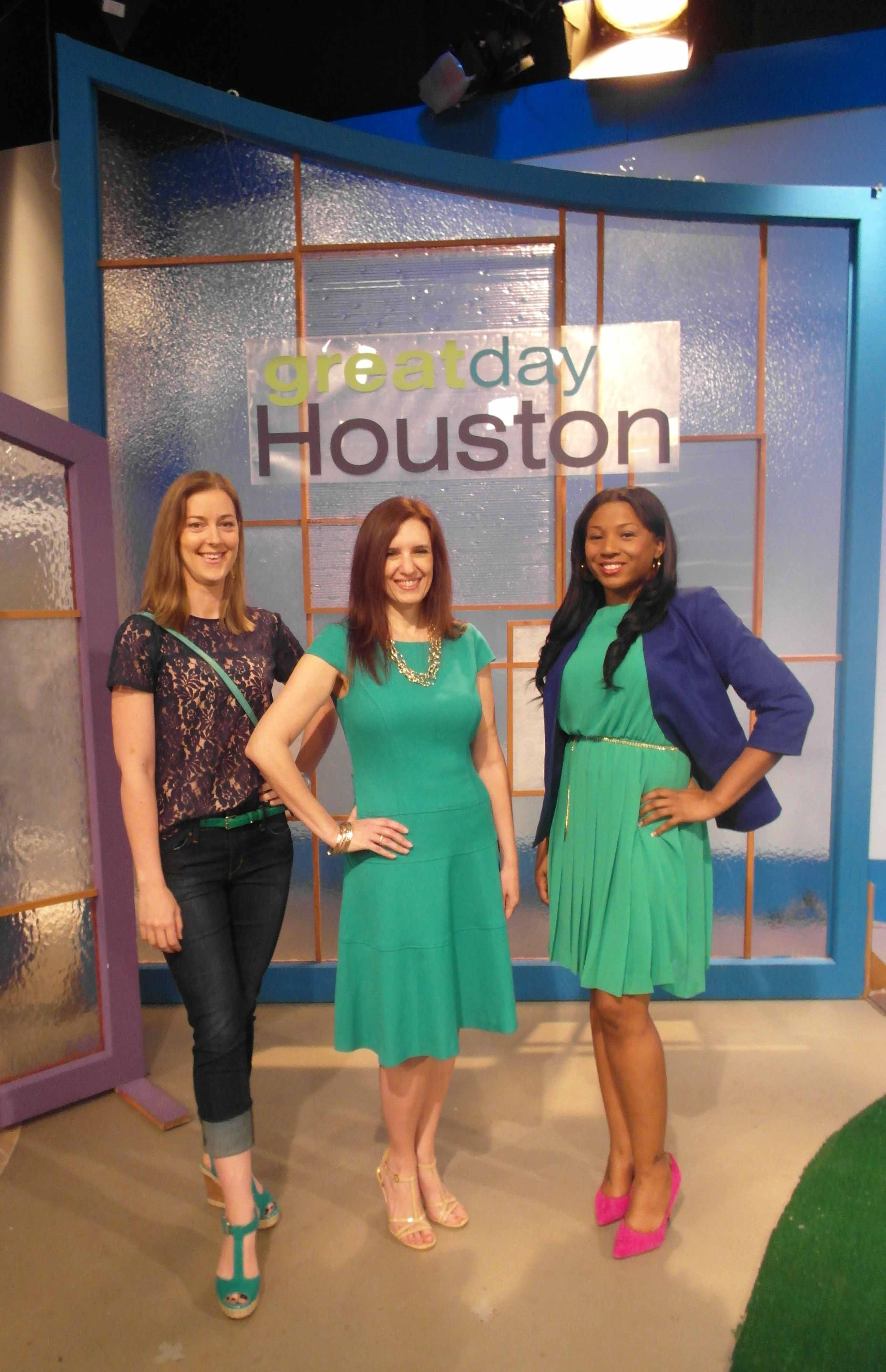 TV Segment: How To Wear Green