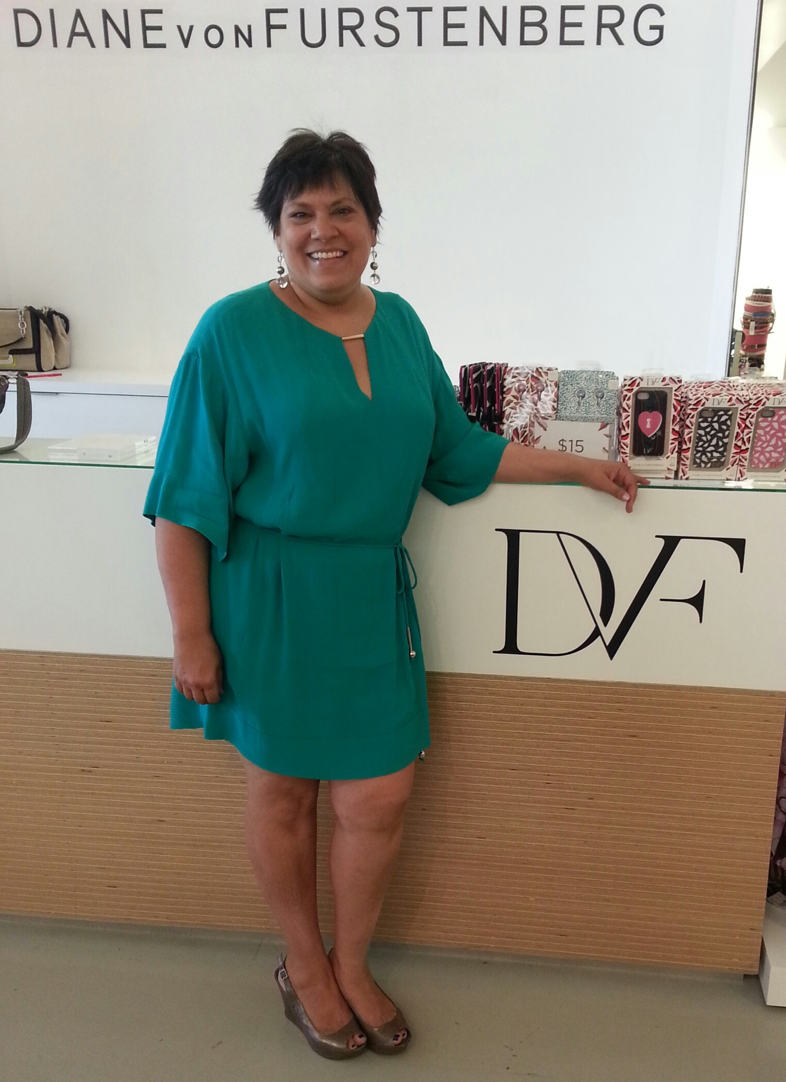 Dvf Dress Outlet what s sarah wearing