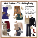What To Wear To The Office Holiday Party
