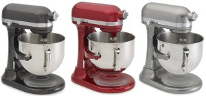 2015 Kitchen Aid Stand Mixers