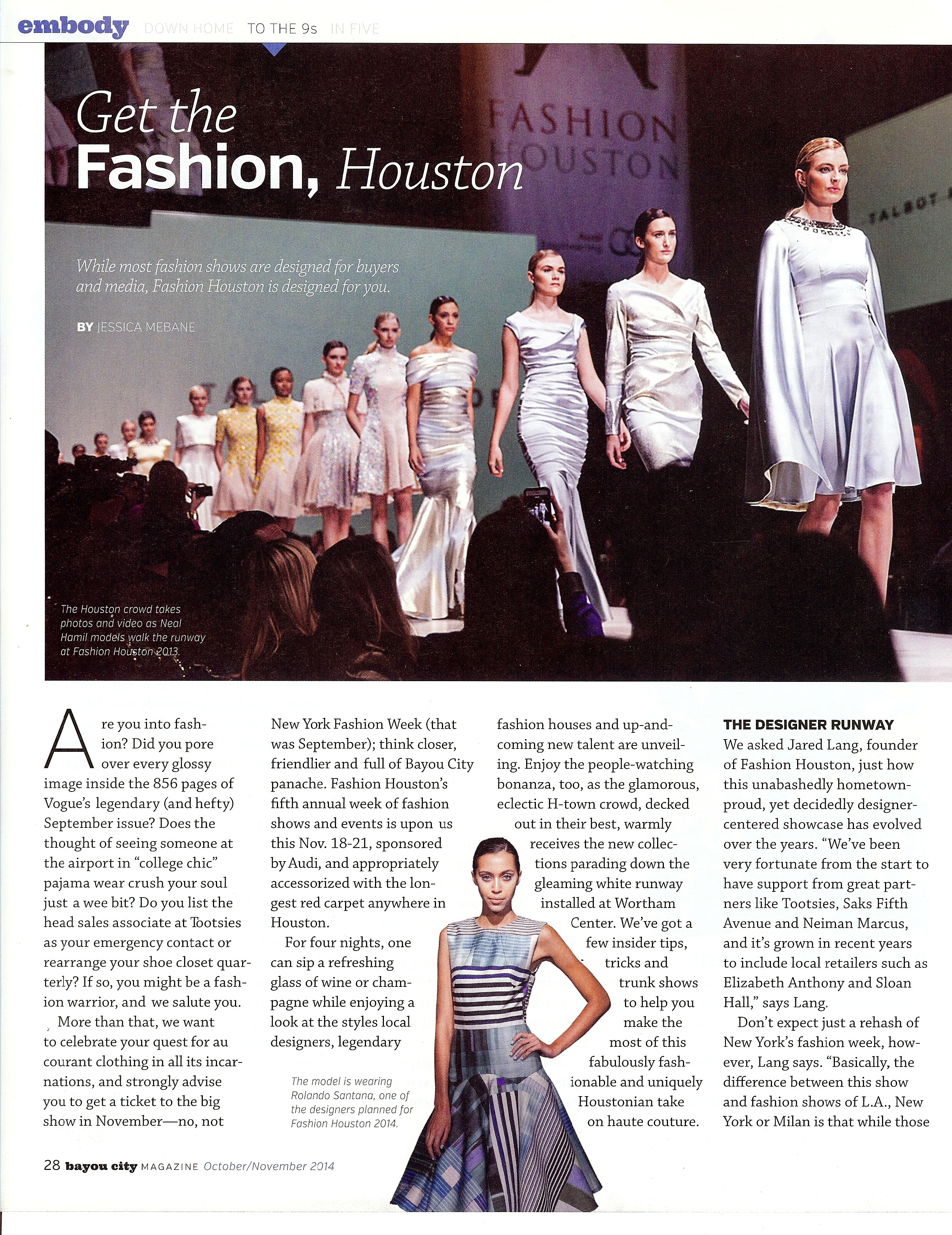 Fashion Houston Sarah Shah