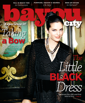 Bayou City Magazine cover oct-nov 2014